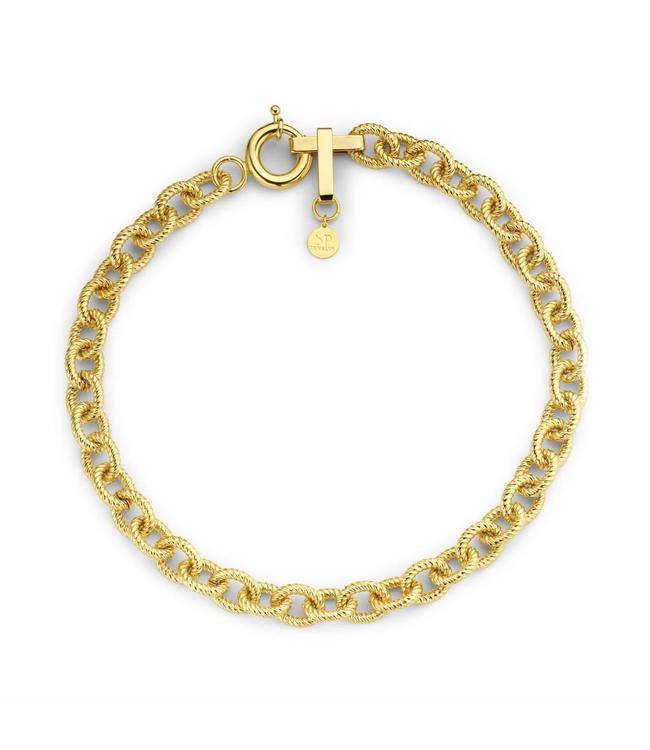 Souvenirs de Pomme Necklace Andrea Gold