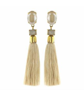 Souvenirs de Pomme Earring Flash Floche Sand