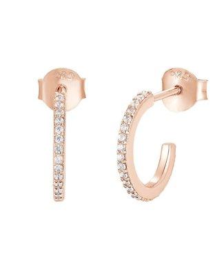 I.Ma.Gi.N. Jewels Oorring White Pink