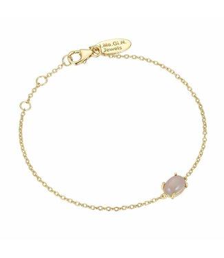 I.Ma.Gi.N. Jewels Armband Moonstone White