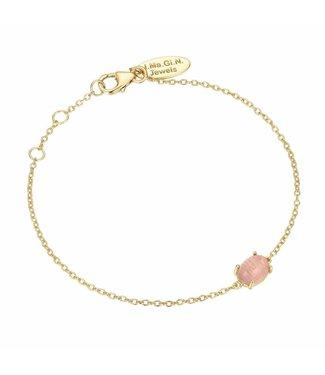 I.Ma.Gi.N. Jewels Armband Moonstone Pink