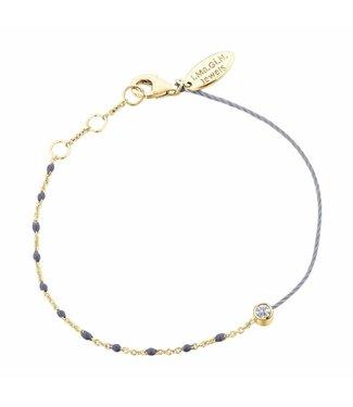 I.Ma.Gi.N. Jewels Armband Duo Grey
