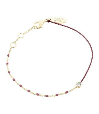 I.Ma.Gi.N. Jewels I.Ma.Gi.N Armband Duo Bordeaux