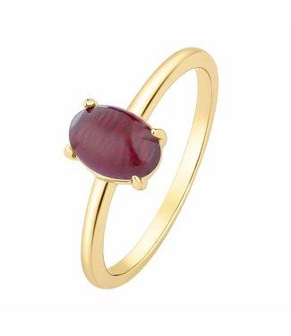 I.Ma.Gi.N. Jewels I.Ma.Gi.N Ring Moonstone Red