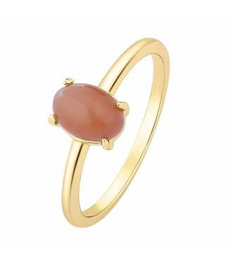 I.Ma.Gi.N. Jewels I.Ma.Gi.N Ring Moonstone Orange