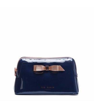 Ted Baker Cahira makeup bag dark blue