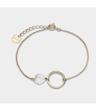 Cluse Armband Idylle Open Circle Marble Hexagon Chain