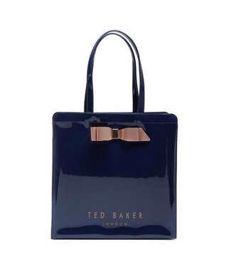 Ted Baker Almacon Core bow large icon bag dark blue