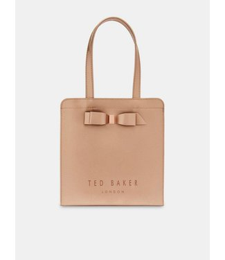Ted Baker Arycon core bow small icon bag rose gold