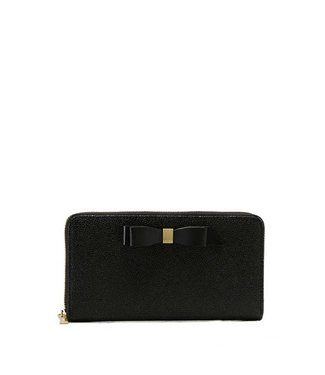 Ted Baker Ted Baker - Bow zip around matinee black