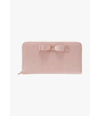 Ted Baker Ted Baker - Bow zip around matinee light pink