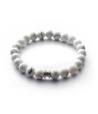 Gemini Bracelet Matt White