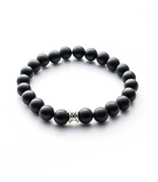 Gemini Bracelet Mat Black