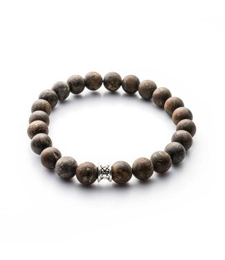 Gemini Bracelet Mat Brown