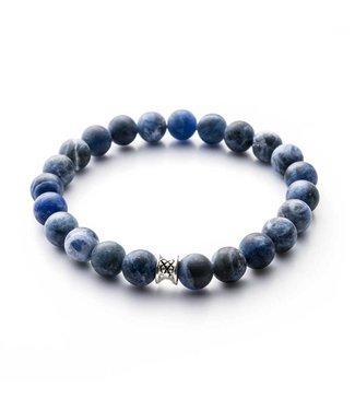 Gemini Bracelet Mat Blue