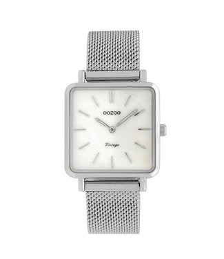 Oozoo Watch Fresia Silver 29x29mm