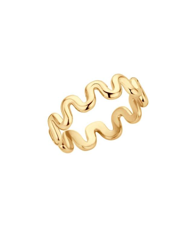MelanO Ring Crinkle Goud
