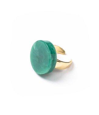 Laurence Delvallez Ring Soul green