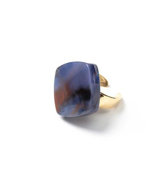 Laurence Delvallez Ring Pure blue