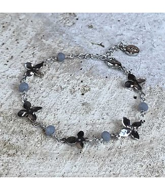 Miracles Armband Fleur Silver