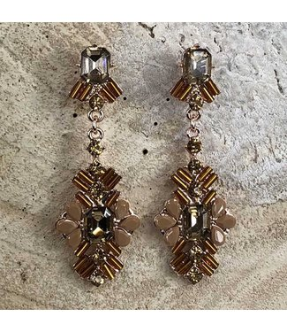 Miracles EARRING OLIVIA  GOLD