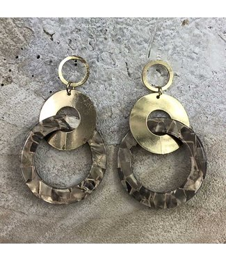 Miracles EARRING KATHY GOLD