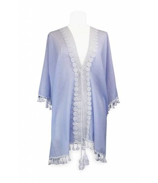 Miracles BEACH DRESS ARUBA BLUE WHITE STRIPES