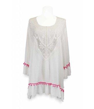 Miracles BEACH DRESS SRI LANKA WHITE