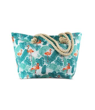 Miracles BEACH BAG FLAMINGO