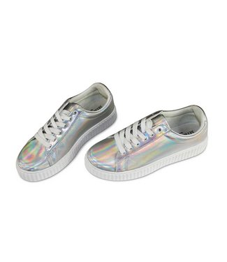 Miracles Sneaker Silver