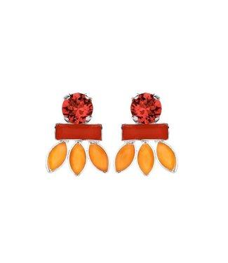 Souvenirs de Pomme Oorring Navette Coral