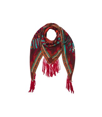 Hipanema Africindian scarf-pareo in in red