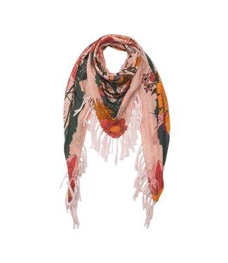 Hipanema bloom scarf-pareo in nude