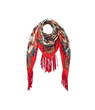 Hipanema pashmina scarf-pareo in turquoise