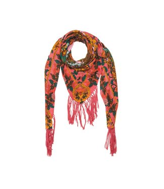 Hipanema Sunspring scarf-pareo in pink