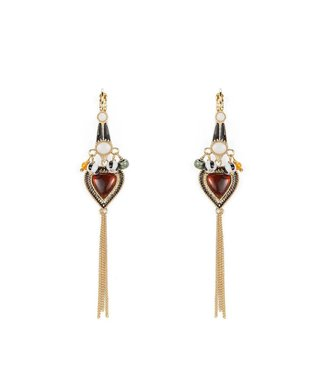 Hipanema envy earrings in multicolors