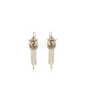 Hipanema saloon earrings in gold