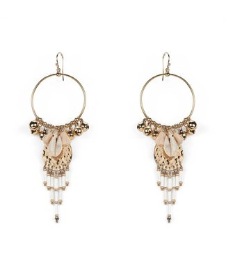 Hipanema karibe earrings in white