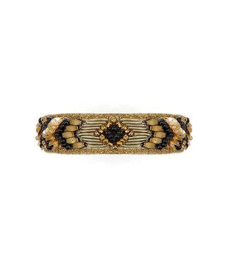 Hipanema terena cuff in black