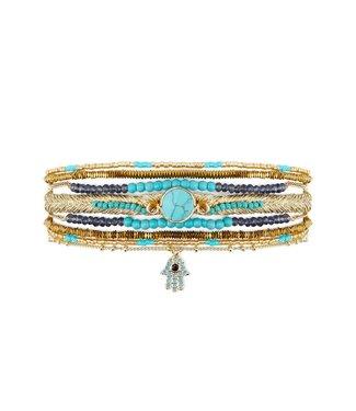 Hipanema Armband Diwali Turquoise