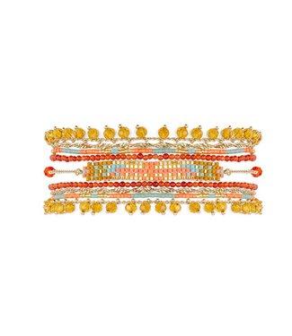 Hipanema Armband Puebla Coral