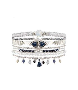 Hipanema Armband Splendor Blue