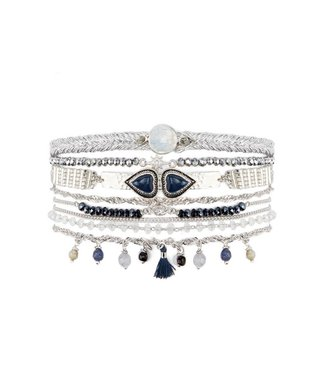 Hipanema splendor cuff in blue