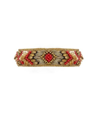 Hipanema terena cuff in red