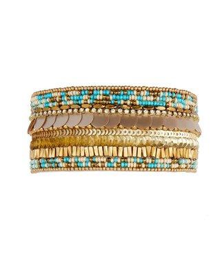 Hipanema Armband Byblos Turquoise