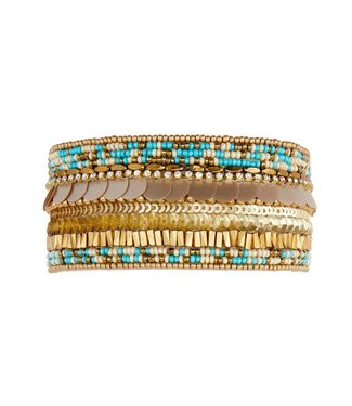 Hipanema byblos cuff in turquoise