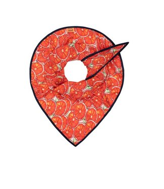 POM Amsterdam Pom - Sjaal Oranges red