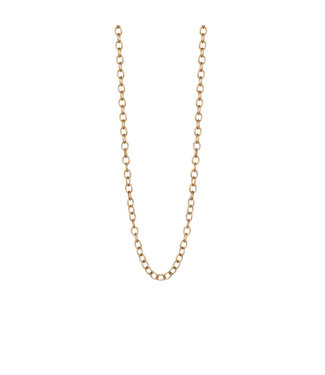 Sence Copenhagen Essentials necklace matt gold - 60 cm
