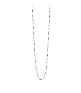 Sence Copenhagen Essentials necklace matt silver - 90 cm