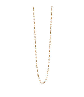 Sence Copenhagen Essentials necklace matt gold - 90 cm